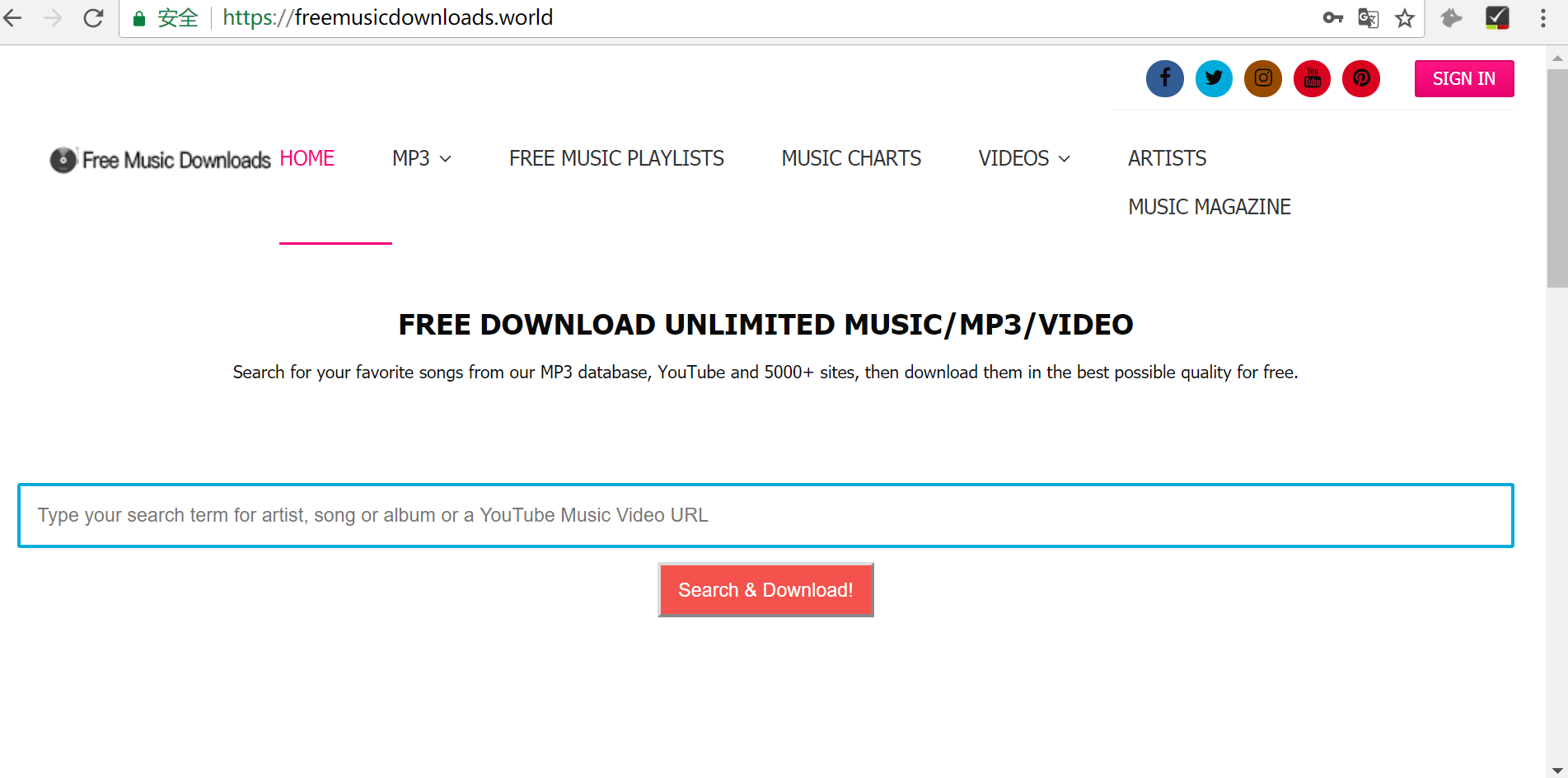 The best alternatives of mp3juices cc is freemusicdownloads