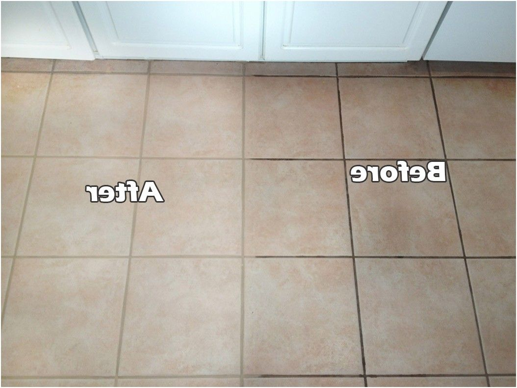 Does Cleaning Grout With Baking Soda And Vinegar Really Work From - How to clean bathroom floor tile grout