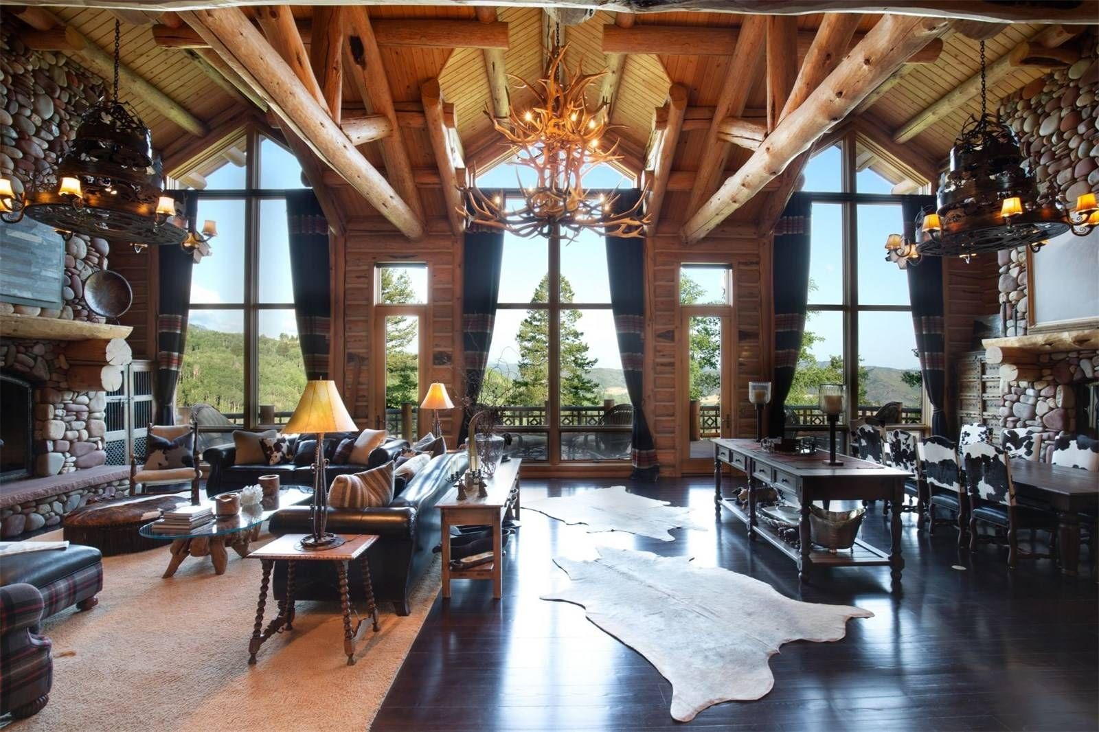 luxury log homes for sale in colorado