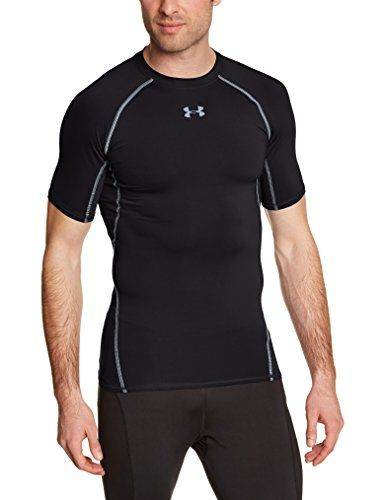 e9fb3ab127 Under Armour HeatGear Short Sleeve Compression TShirt Large Black     See  this great product. (This is an affiliate link)  runningmensclothing
