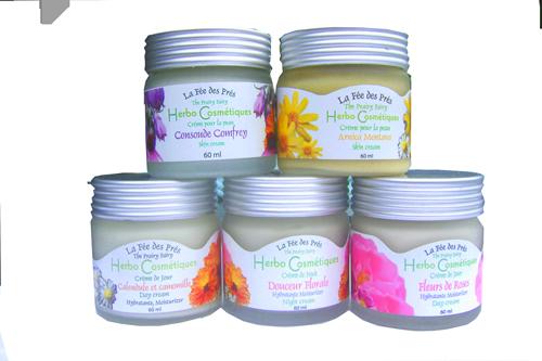 La fée de prés, Herbo Cosmétiques Crèmes de beauté non toxiques à base de plantes et d'huiles végétales. Un pur bonheur !