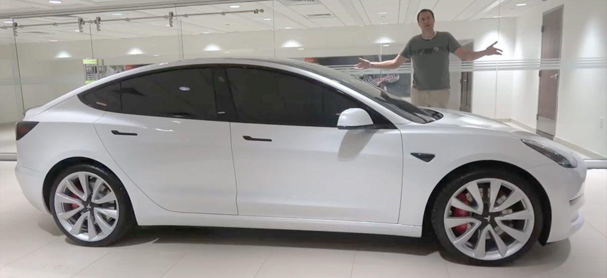Doug Demuro Awards Tesla Model 3 Performance Car Of The Year 2019 Tesla Model Tesla Car