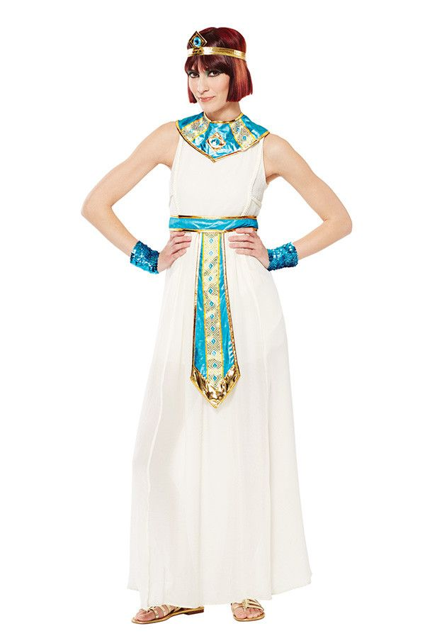 Walk like an Egyptian in this women's Halloween costume.