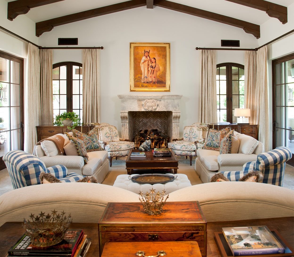 This Home Was Designed And Built With Influences Of