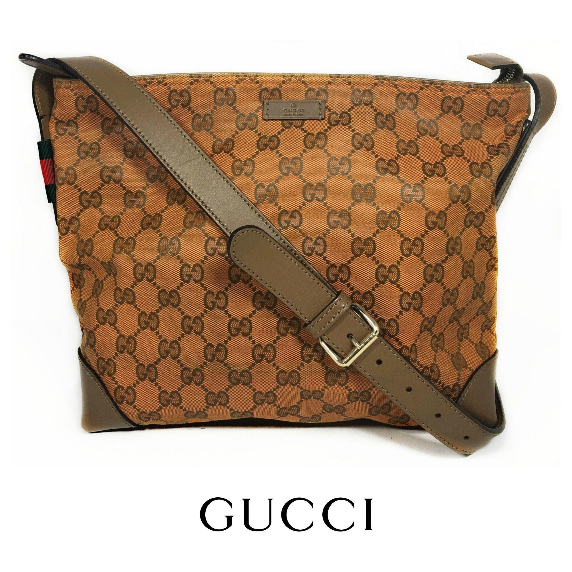 6ff016fb6b4d Gucci Orange Monogram Crossbody Bag  498