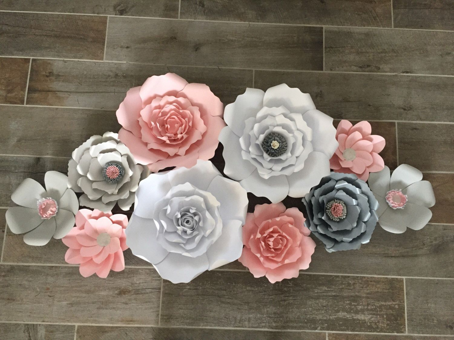 Pin By Jamie Hill On My Work White Paper Flowers Paper Flower