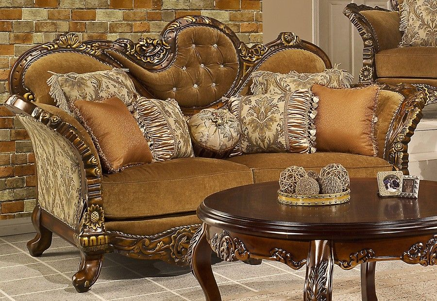 Ferrero Victorian Style Living Room Traditional Living Room Furniture Formal Living Room Furniture Living Room Furniture #victorian #style #living #room #sets