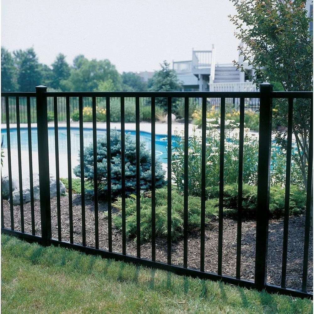 Hd Aluminum Fence Fence Design Aluminum Fence Landscaping