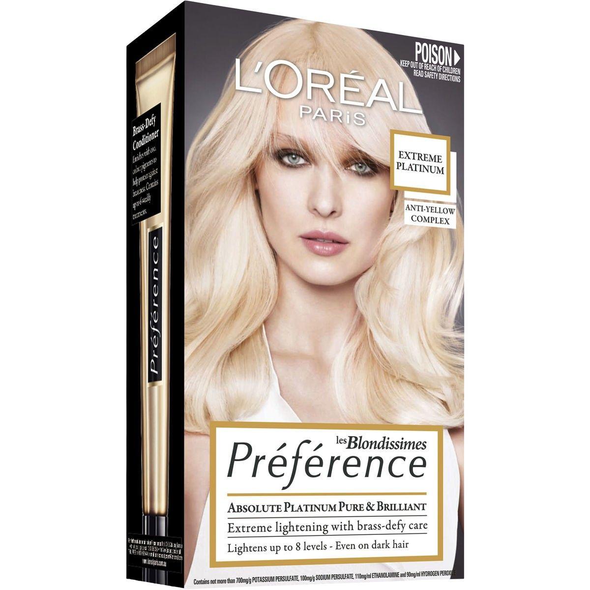 L Oreal Paris Blondissimes Preference Platinum Big W In 2020