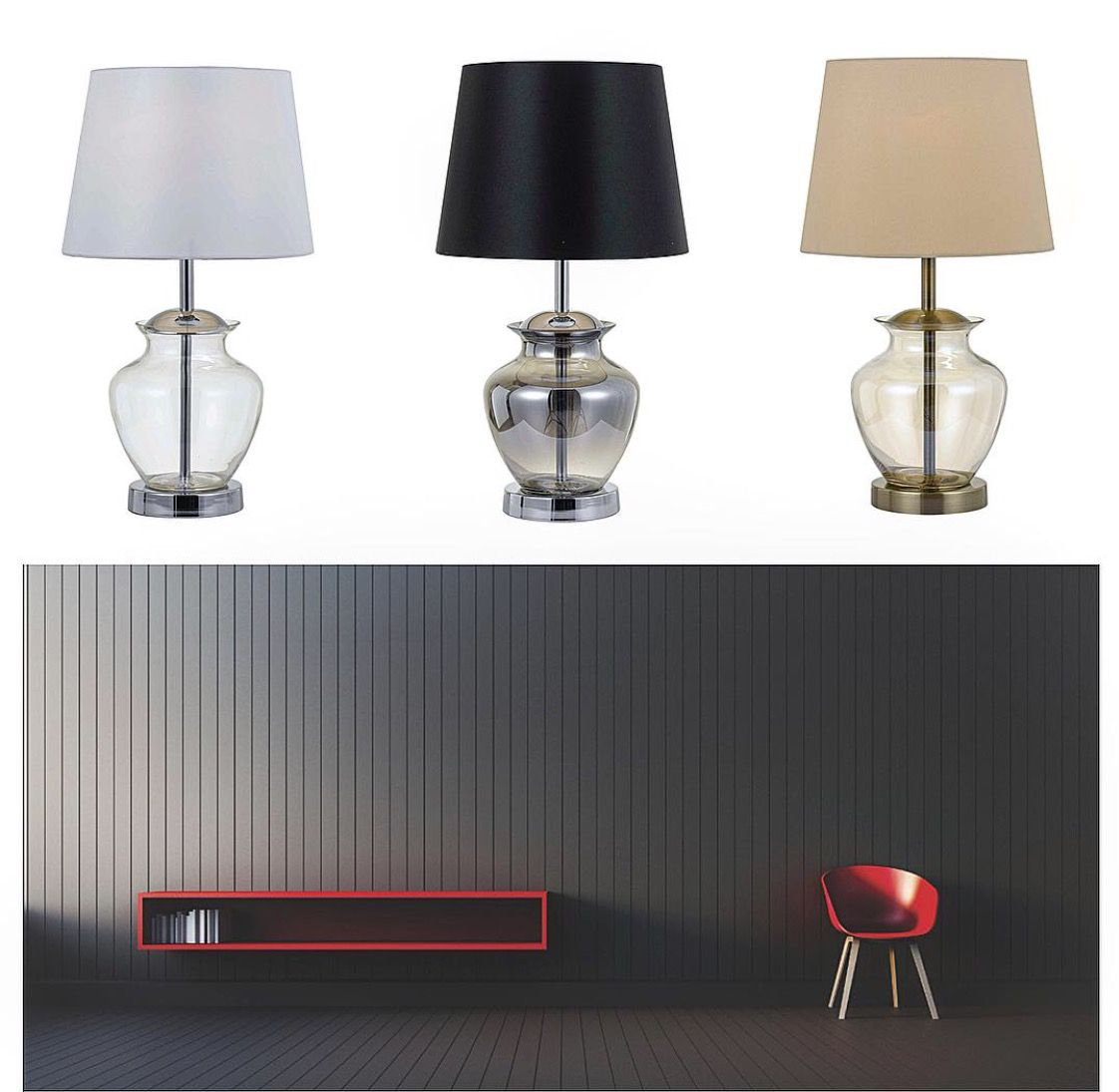 New Arrivals At Bitola Lighting The Elegant June Table Lamps Available In Three Diffe Color Combinations Www Bitolalighting Au