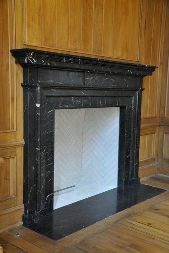 Tiling Inside Fireplace This Will Work Great In The Living Room