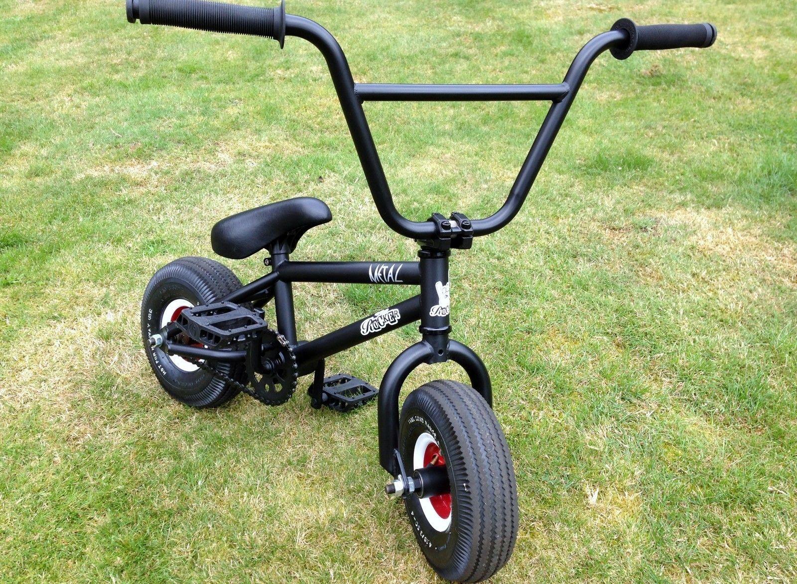 Rocker Bmx Mini Stunt Bike Custom Hot Rod Wheels Metal Rocker Stunt Bike Bmx Bikes Stunt Bmx