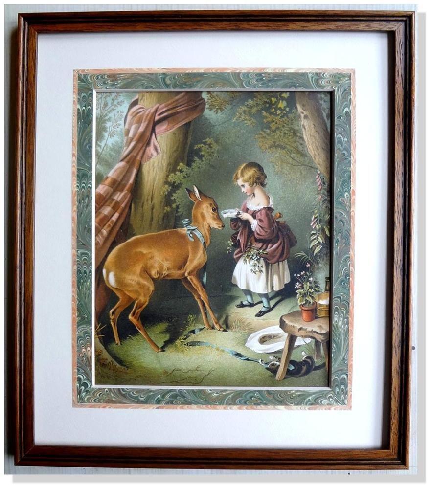 Sir Edwin Landseer Pet Fawn London and New York Date 1890