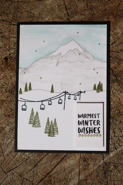Mountain Christmas Cards.Mountain Adventure Stamp Set Christmas Cards I Ve Got To
