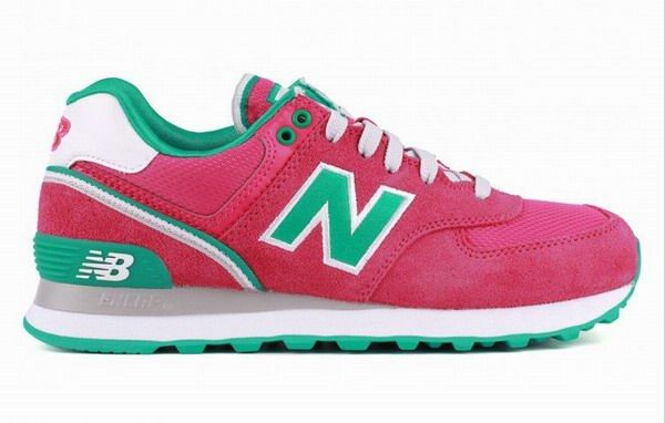 reputable site 74b3c 3f952 Joes New Balance 574 WL574SJR Pink Green Womens Shoes | Cool ...