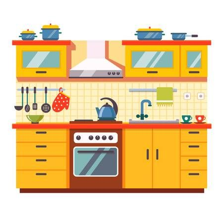 disegno cucina x casa bambole