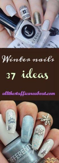 Winter nails 37 ideas elegant nail art glitter nail designs winter nails 37 ideas elegant nail art glitter nail designs and round nails prinsesfo Gallery