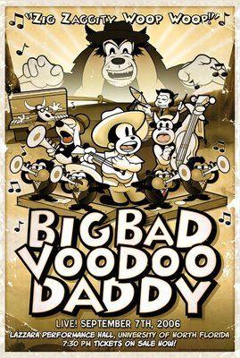 Big Bad Voodoo Daddy Tattoo Ideas Concert Posters