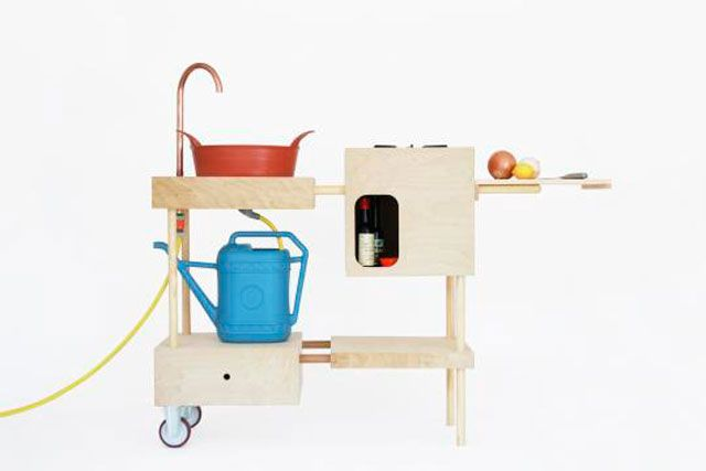 Diy Keuken Kleine : Kleine designkeukens die overal passen mobiele keuken nina