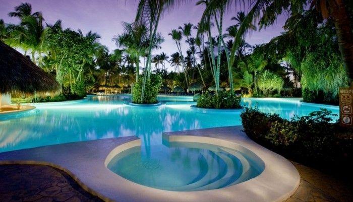 luxus pool hier ist ein kleiner pool für garten | luxuriöse, Wohnideen design