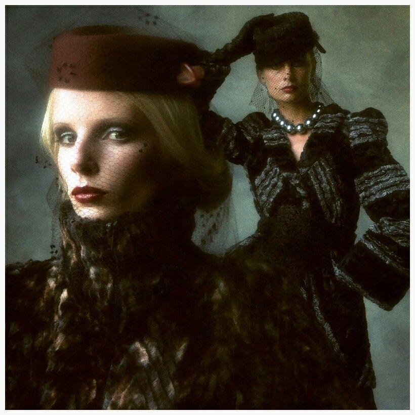 Photo Brian Duffy - Biba models, 1973  Barbara Miller and Jean Shrimpton