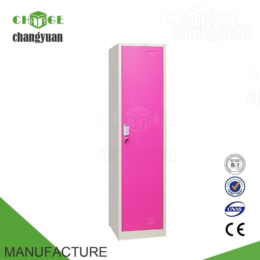 6c49c4d13 Made in China single door 1 tier steel pink locker