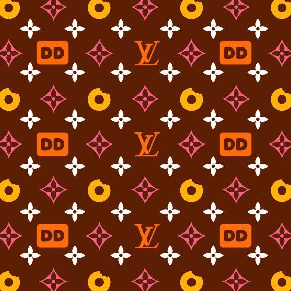Tim Lahan Louis Vuitton X Dunkin Donuts Circa 2011 Donut Background Donut Drawing Dunkin Dounuts
