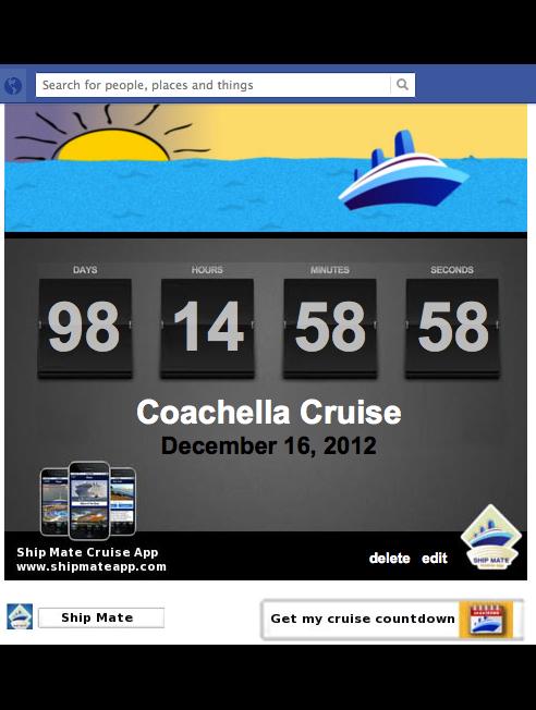 Cruise countdown clock for facebook a dream for pamella - Royal caribbean cruise countdown clock for desktop ...