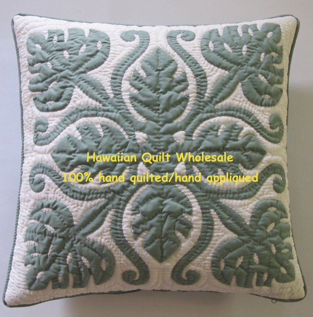 Hawaiian Quilt pillow covers Each pillow cover comes with zipper