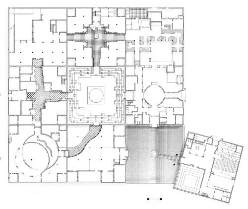 architectural drawings floor plans. Architecture Drawings · Charles Correa, Jawahar Kala Kendra, Plan, Jaipur, India,. Architectural Floor Plans