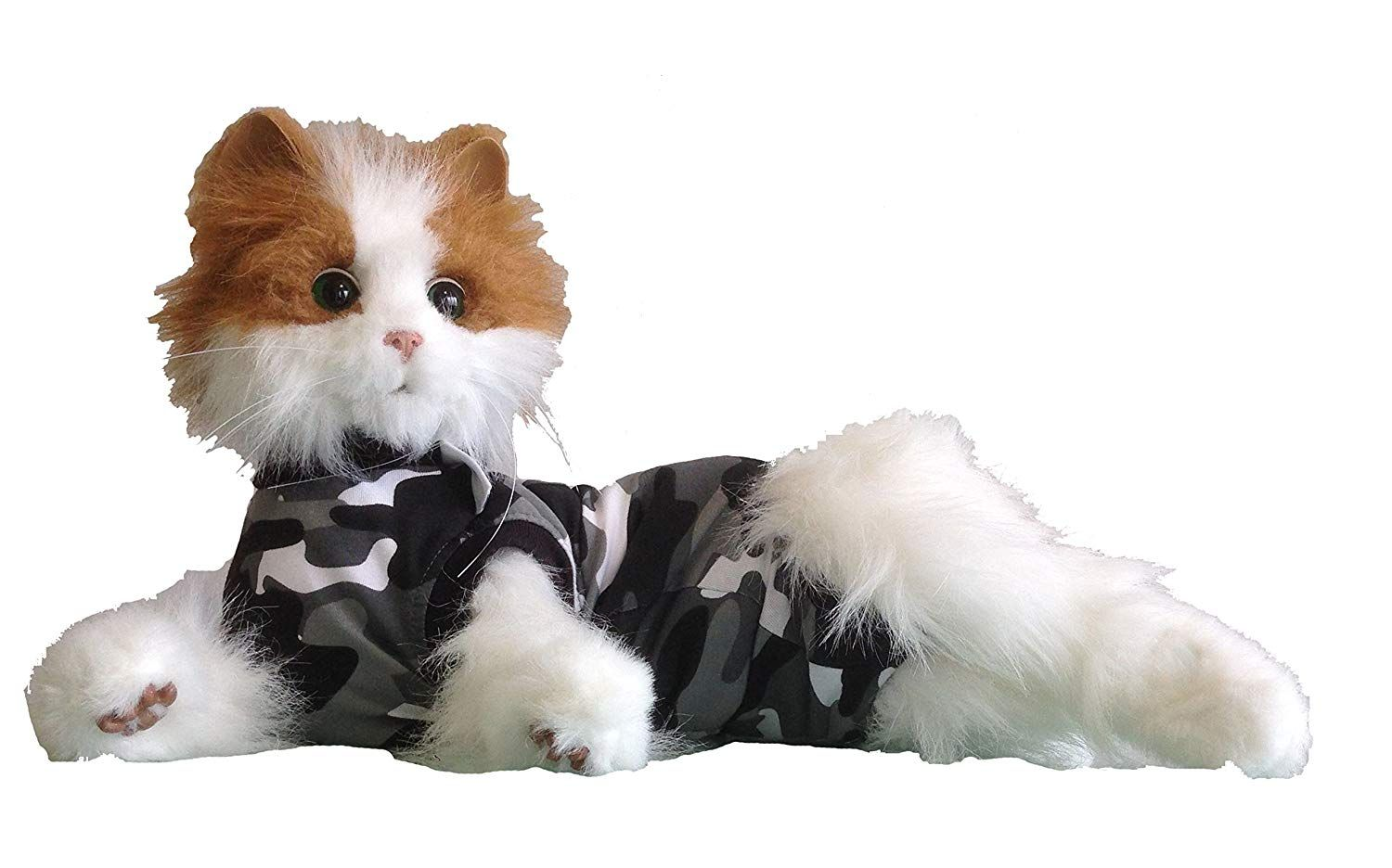Suitical Cat Recovery Suit Small / Black Camo * We do