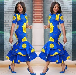 DELIGHTED NIGERIAN ANKARA STYLES FOR ATTRACTIVE LADY #ankarastil