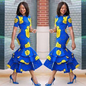 DELIGHTED NIGERIAN ANKARA STYLES FOR ATTRACTIVE LADY #ankarastil