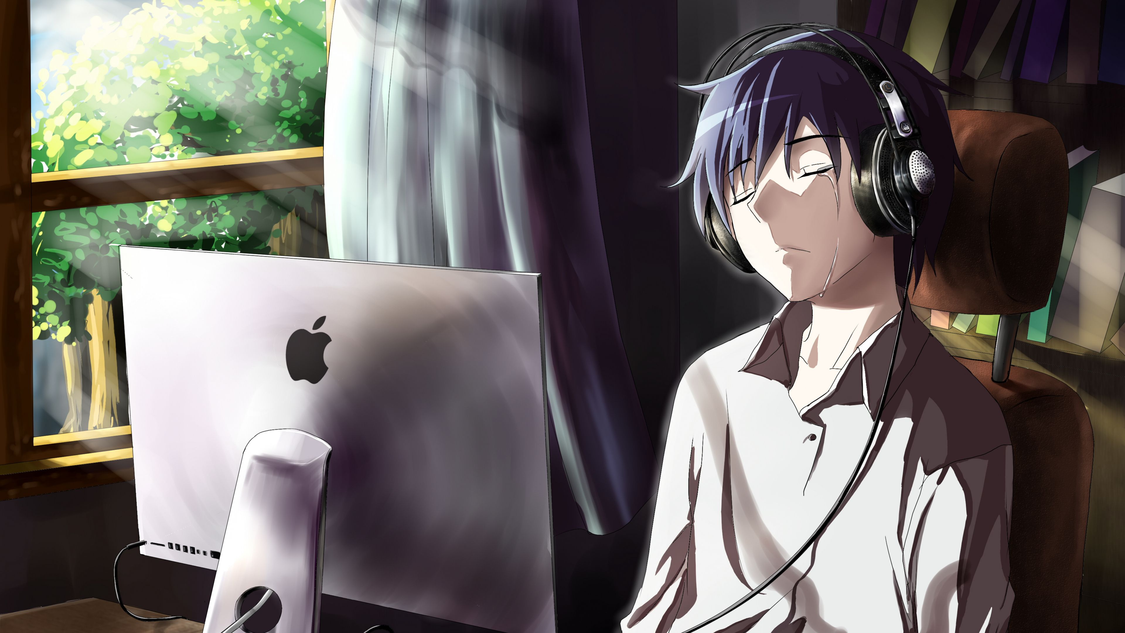 Wallpaper estilo anime (Dengan gambar) Gambar anime