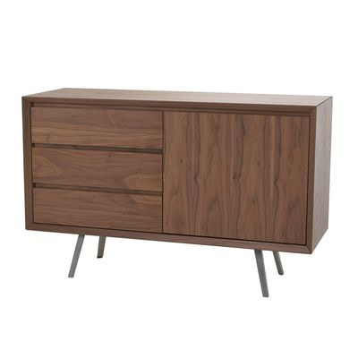 Click To Zoom Spike Compact Sideboard Walnut Compact Sideboard