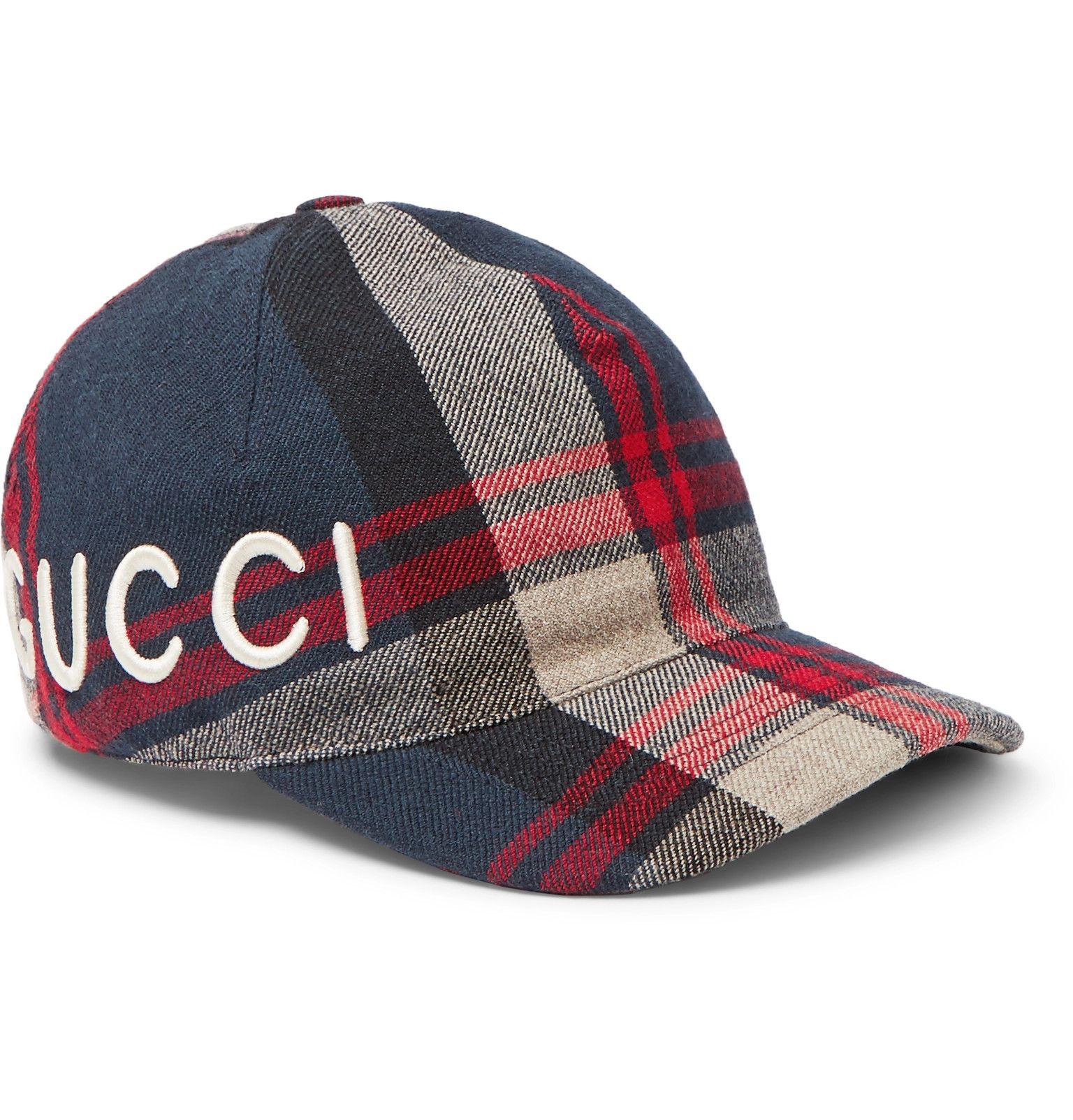 Loved Tartan Baseball Cap Gucci yEy8VebUTz