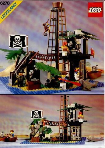 Pirates Forbidden Island Lego 6270 Halloween Pinterest