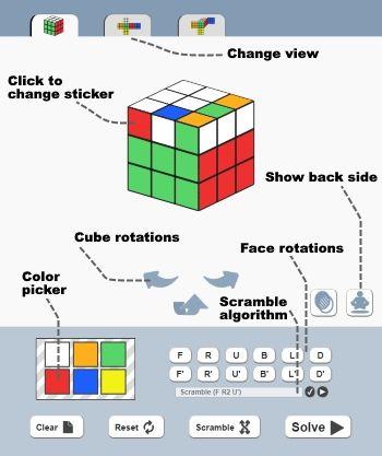 Rubik's Cube Solver The Best Free Online Program Cube