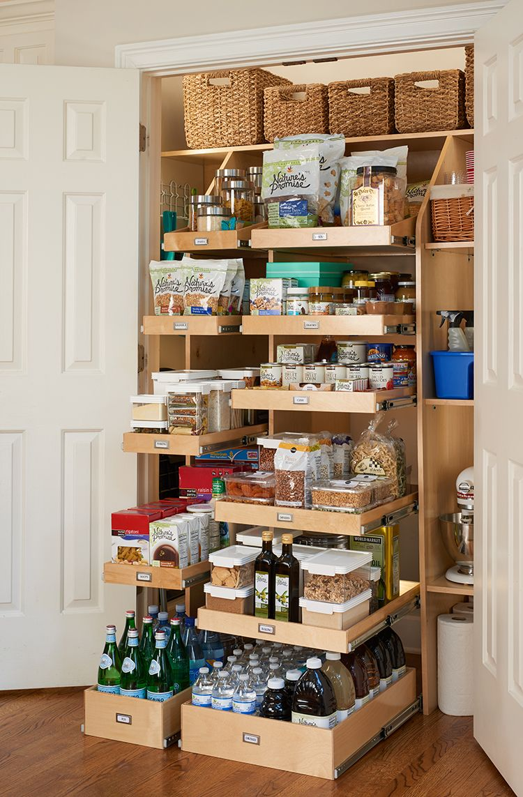 ShelfGenie provides custom shelving for your pantry. … | Pantry ...