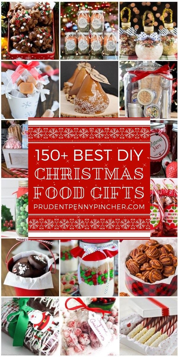 150 Best Food DIY Christmas Gifts #fooddiy