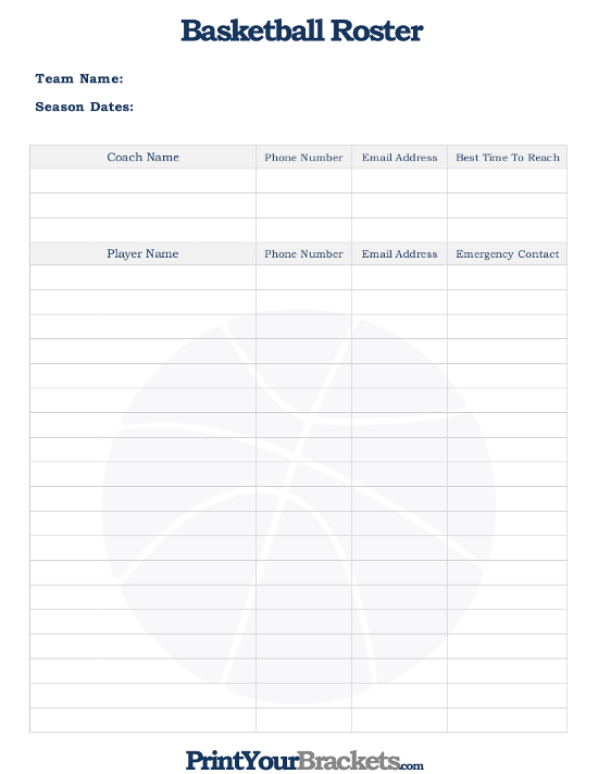 printable roster sheet koni polycode co