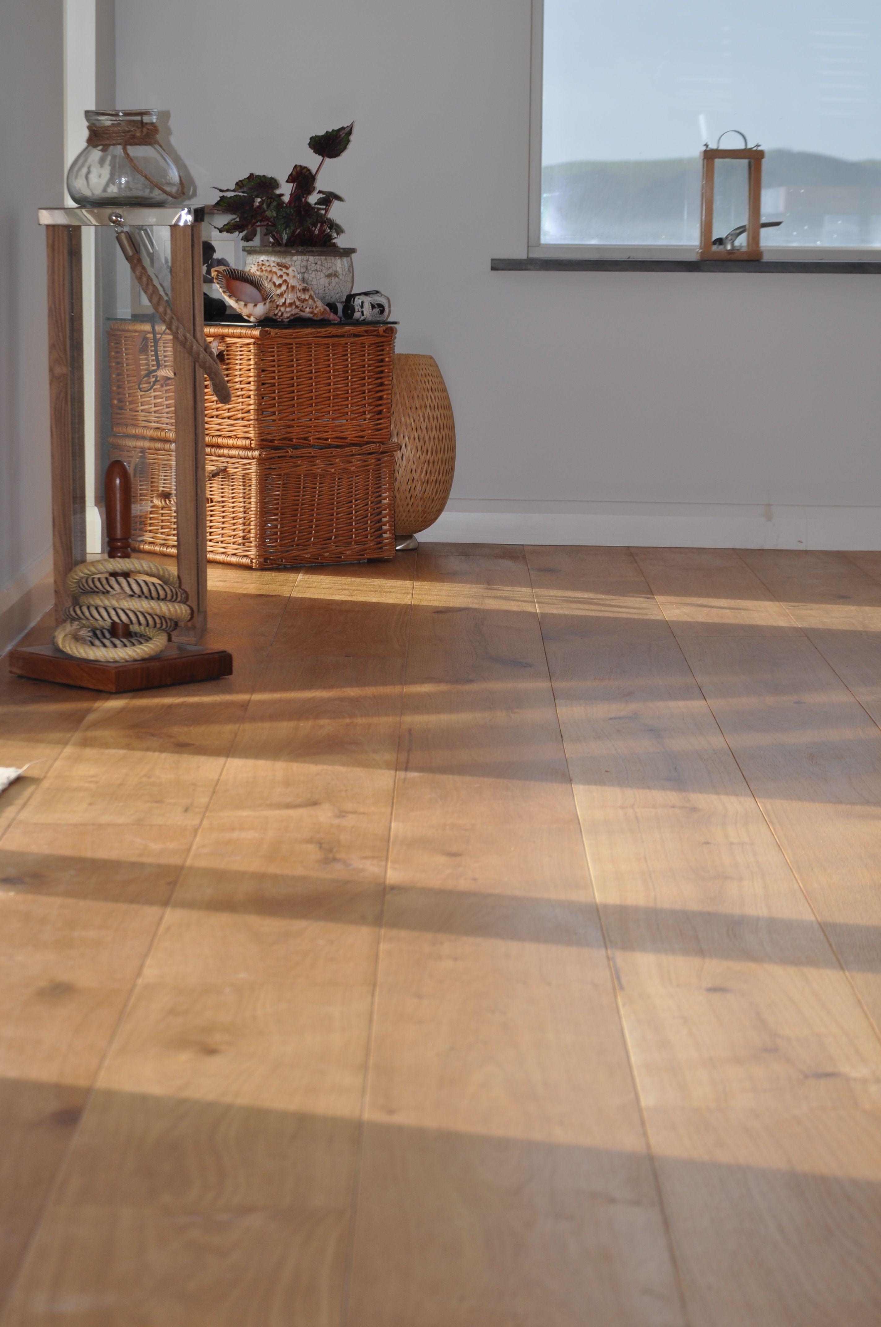 Long and Wide Engineered Oak Floorboards. Flooring, Oak