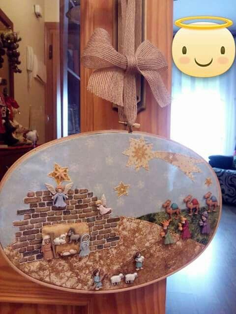 Resultado de imagen para pesebres con botones | Navidad | Pinterest ...