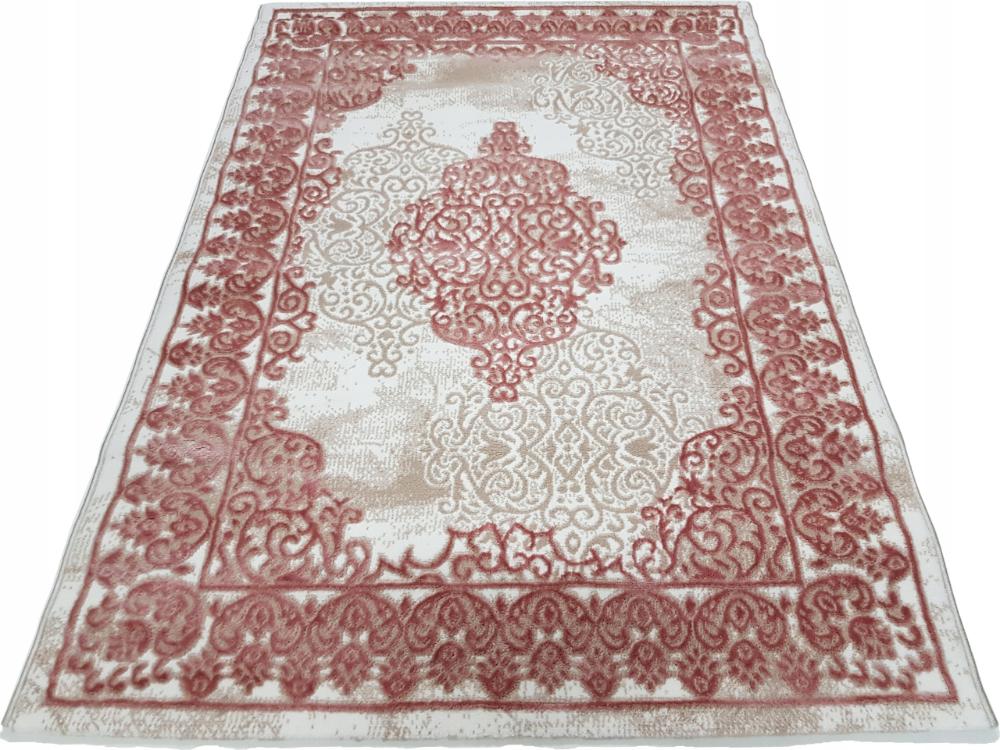 Dywan Style 3d Orient Kremowo Rozowy 80x150 8107477235 Oficjalne Archiwum Allegro Carpet Rugs Decor