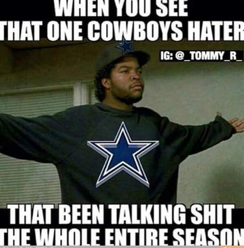 Dallas Cowboys Haters Dallas Cowboys Fans Dallas Cowboys Memes