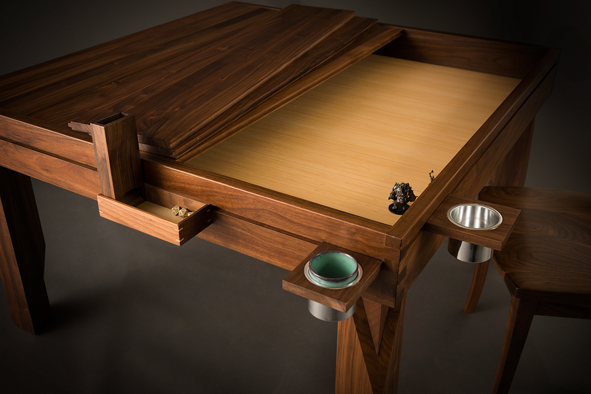 Geek Chic Dream Table Two Leaves Removed Bamboo Upgraded Game