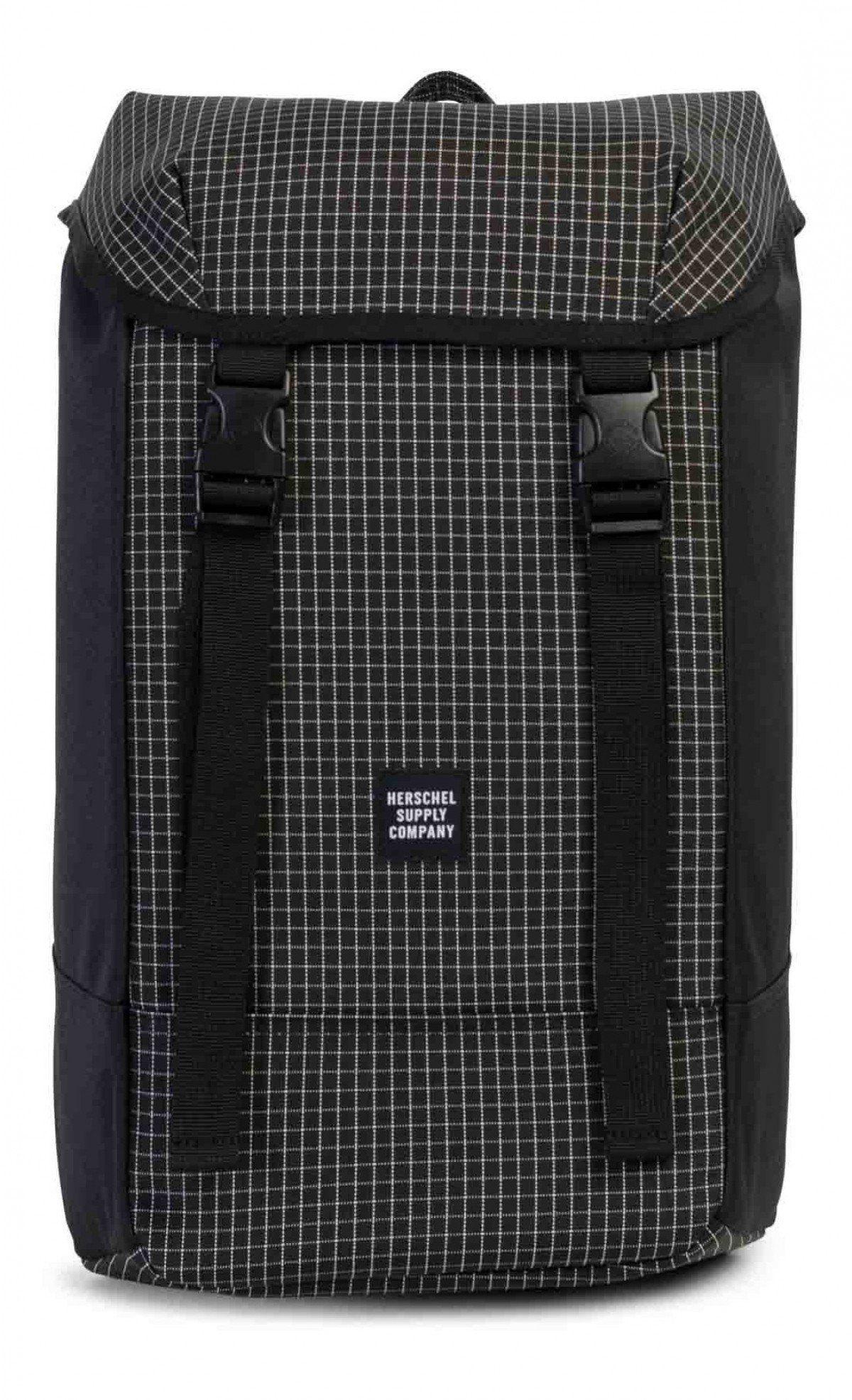 7fd31ab1c7 Herschel Iona Backpack 600D Poly Black Grid
