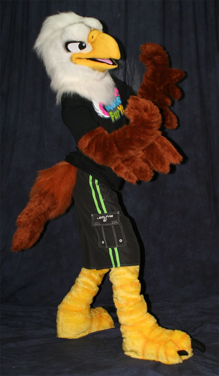 Made Fur You Eagle Fursuit  Fursuit, Furry Suit, Furry Art-5349