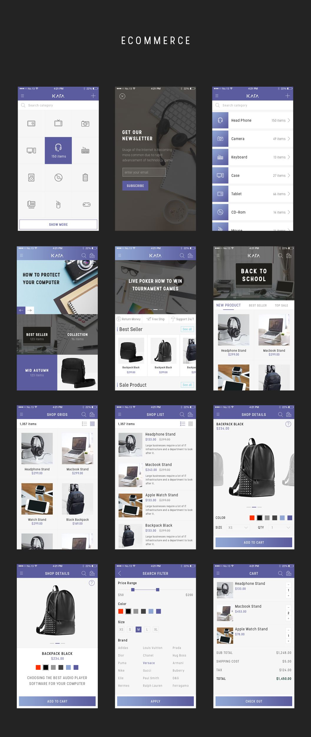 Kata UI Kit is specially optimized for iOS, it includes 80+ mobile ...