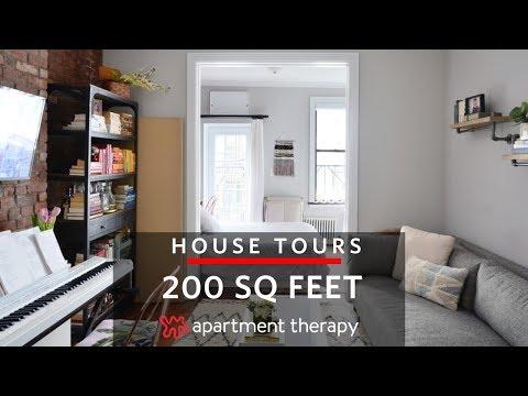 (59) A 200-Square-Foot Studio | House Tours | Apartment ...
